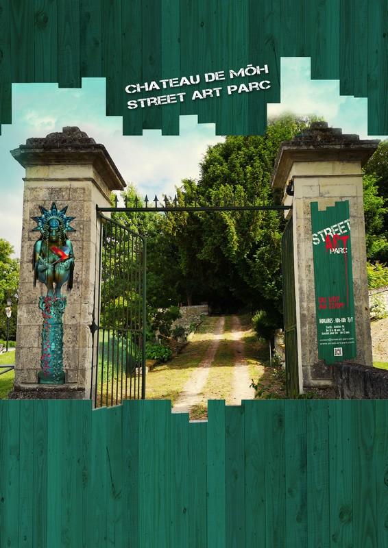 Street Art park at the chateau de Môh-4