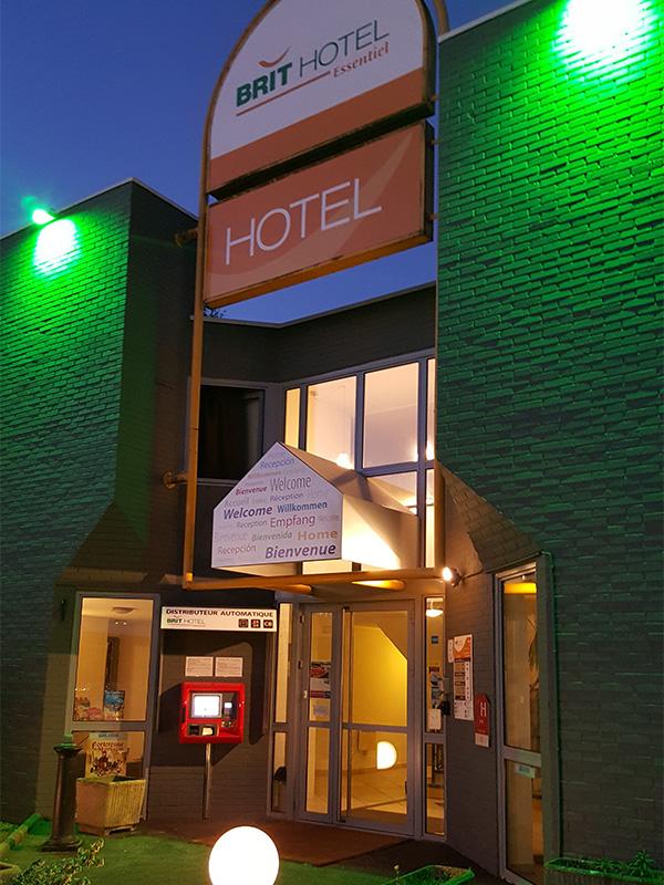 Brit Hôtel Tours Nord-7