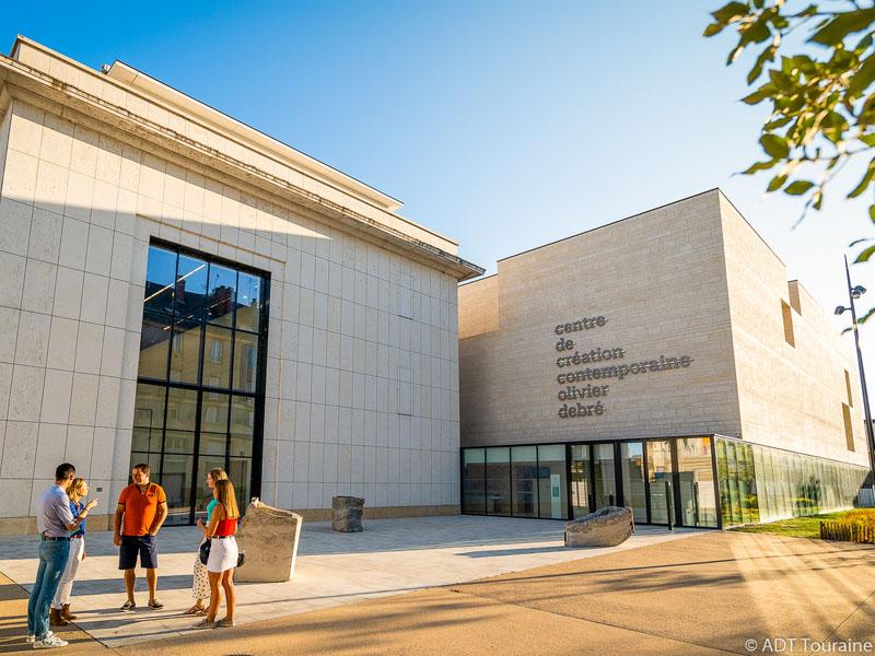 Olivier Debre Contemporary Art Centre In Tours Visite Tourism