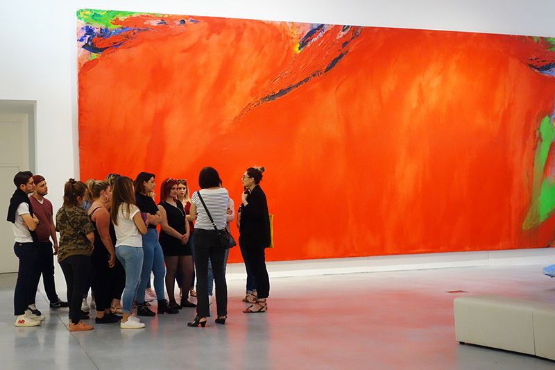 Olivier Debré Contemporary Art centre, in Tours, France. - CCCOD: centre de création contemporaine Olivier Debré.