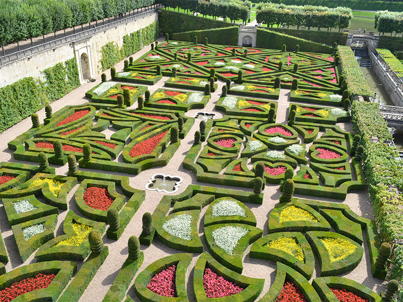Château and Gardens of Villandry in VILLANDRY, Visite & Tourism ...