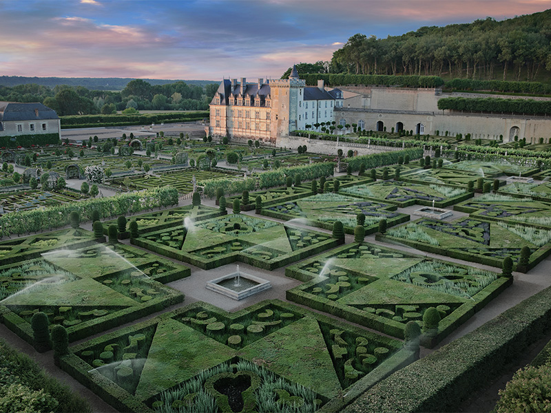 Chateau And Gardens Of Villandry In Villandry Visite Tourism
