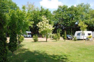 Les Acacias campsite – La Ville-aux-Dames, Loire Valley, France.