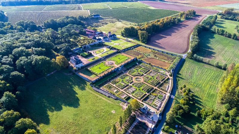 The garden of Valmer