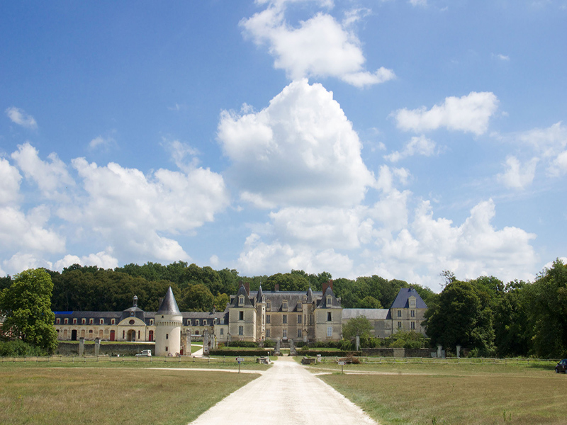 The castle of Gizeux