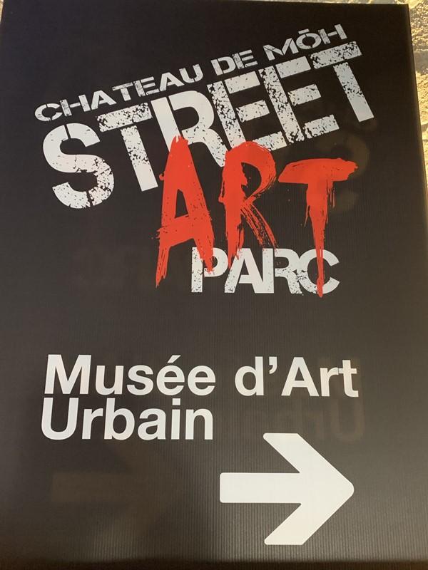 Street Art park at the chateau de Môh-12