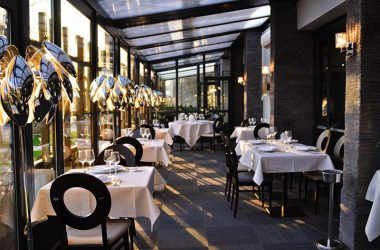 L'Opidom restaurant – Fondettes, Loire Valley, France.