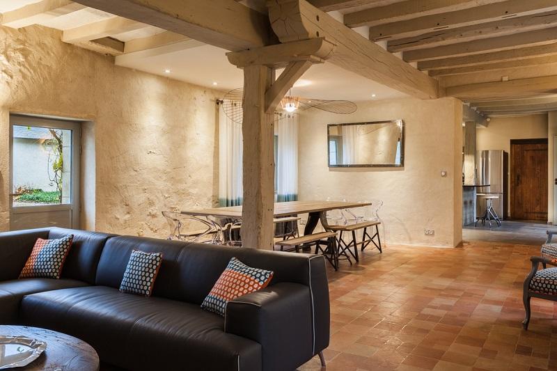 guest room le petit porteau in joue les tours 4 stars touraine val de loire. Black Bedroom Furniture Sets. Home Design Ideas