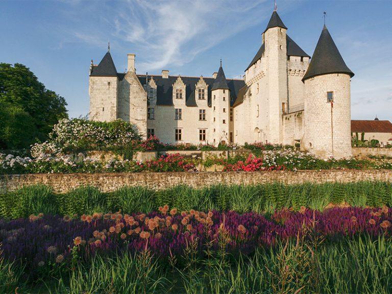 Château and gardens of Le Rivau-8