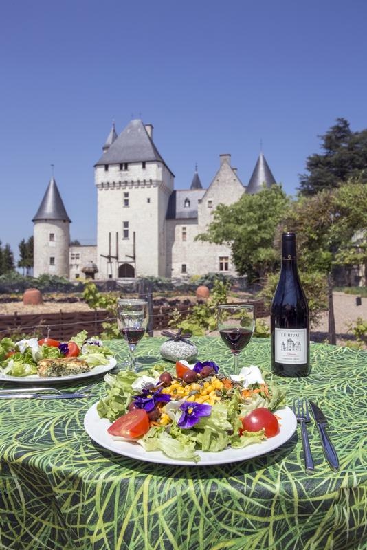 Château and gardens of Le Rivau-18