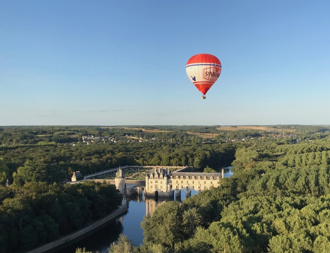 Hot air balloon - Chenonceau