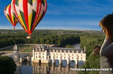 Touraine_Montgolfière_Chenonceau