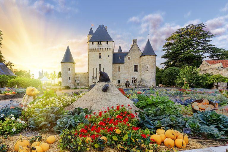Château and gardens of Le Rivau-1