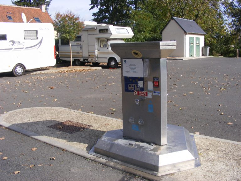 Aire de services camping-cars Vouvray-2