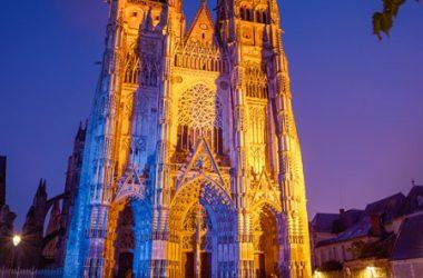Saint-Gatien Cathedral – Tours, Loire Valley, France.