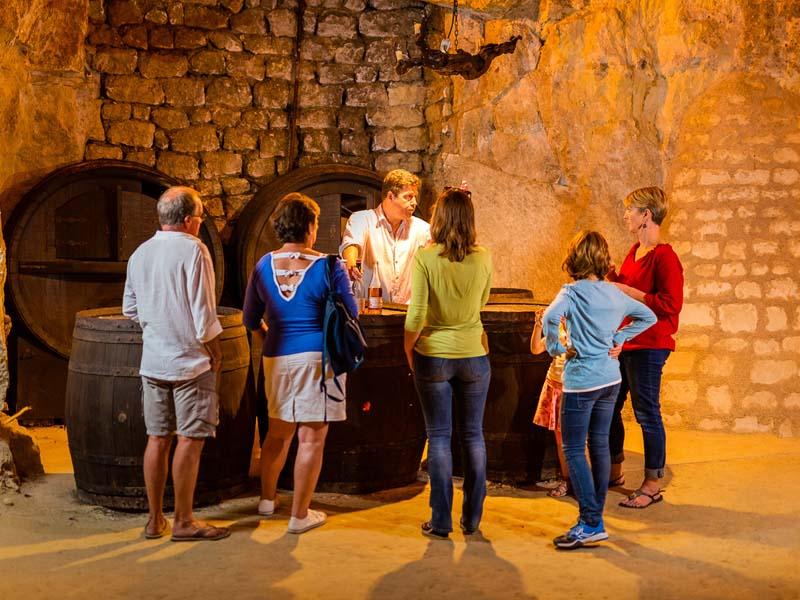Trolodyte wine cellar - Loire Valley, France.