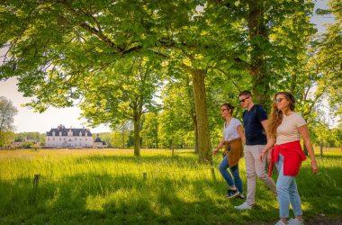 Walk around the castle of Champchevrier