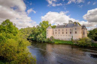 La Guerche castle – France
