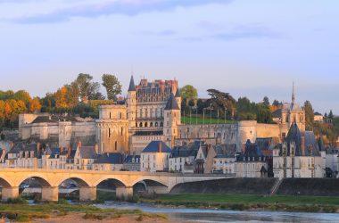 The royal chateau of Amboise