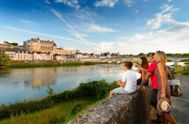 The royal chateau of Amboise – France