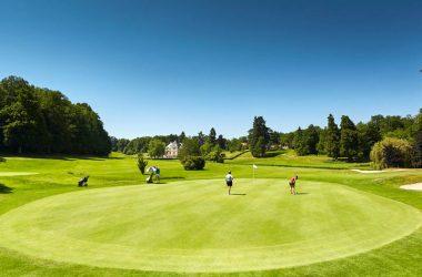 Golf blue green Tours Ardrée – Loire Valley, France.