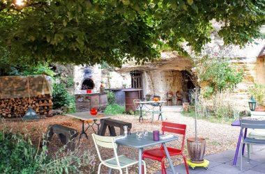 Les gueules noires – Restaurant in Vouvray, France.