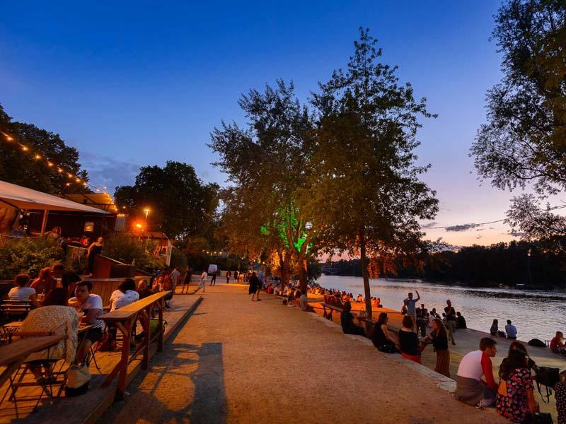 Guinguette café - Tours sur Loire