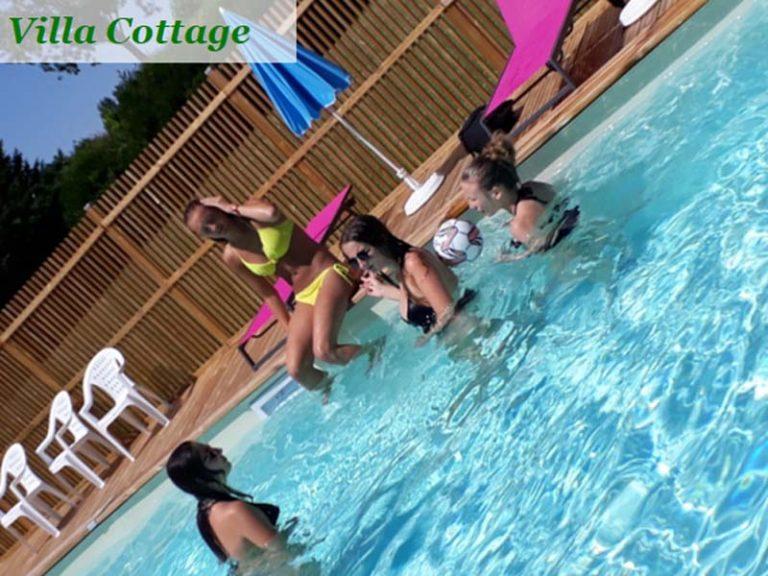 Le Cardinal campsite – Villa Cottage-4