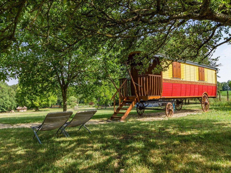 The gypsy caravan - One of the unusual places to stay