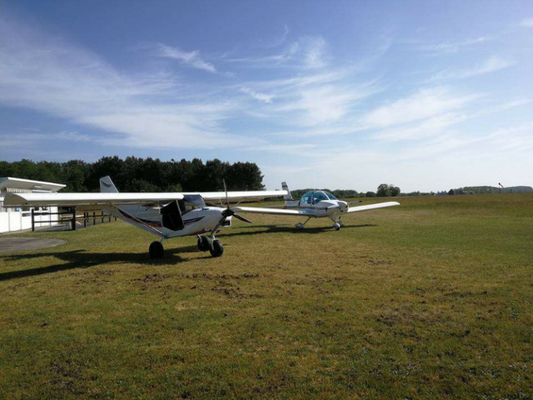Base ufolep – Microlight flights-1