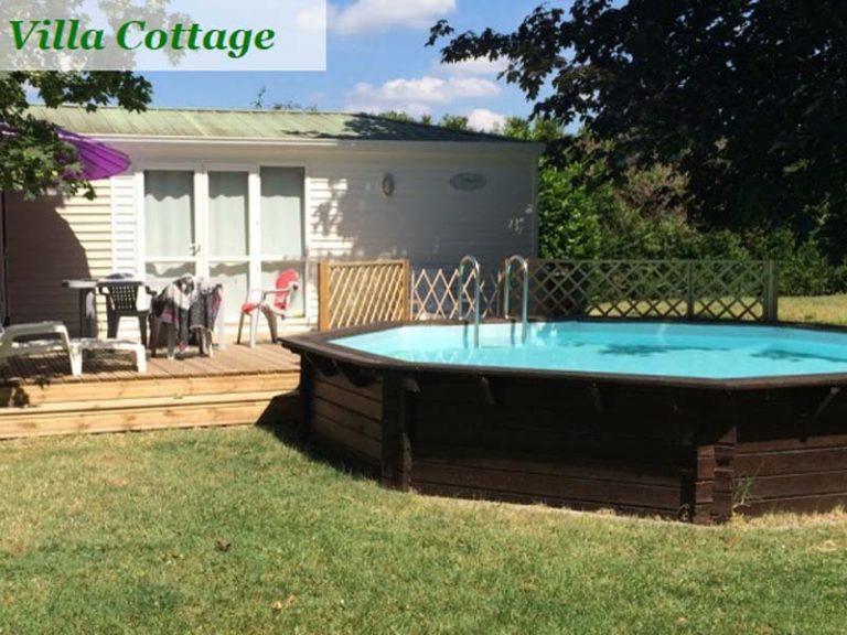 Le Cardinal campsite – Villa Cottage-1